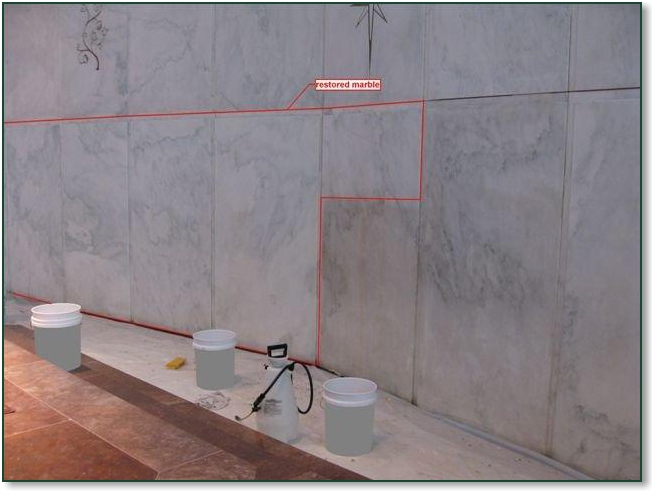 Interior Marble Cleaning Detail